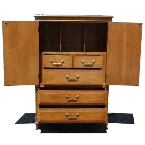 mid century armoire 61 quot vintage mid century armoire by century mr10757 ebay