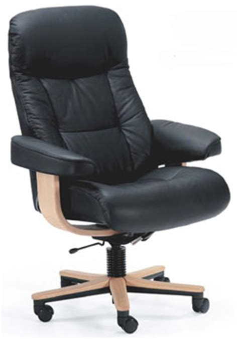 scandinavian leather office chairs fjords 215 muldal soho ergonomic leather office chair