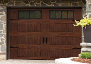 How To Stain A Metal Garage Door by Garage Doors Staining A Metal Door In A Woodgrain Finish
