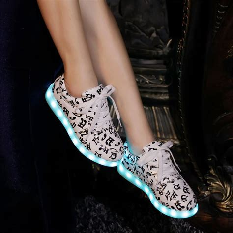 music note light up shoes online buy wholesale music notes shoes from china music