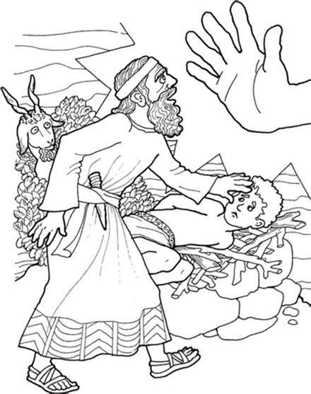 Coloring Page Isaac And Abraham by 9 Best Images Of Abraham Bible Worksheets Gods Promise