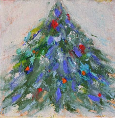 amy whitehouse paintings christmas tree contemporary