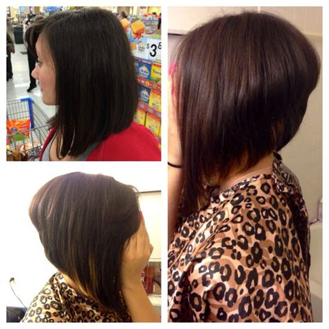 dramatic layered angled bob haircuts dramatic angled bob short hairstyle 2013
