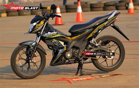 Striping Variasi Sonic 150r 8 modif striping honda new sonic 150 hitec motoblast