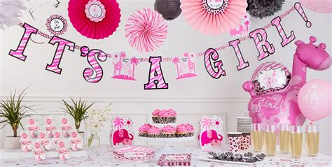 Baby Shower Pink by Pink Safari Baby Shower Decorations City