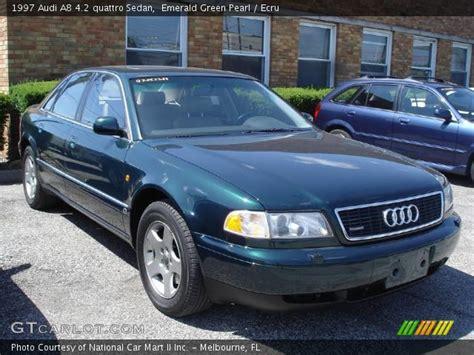 how cars engines work 1997 audi a8 parental controls emerald green pearl 1997 audi a8 4 2 quattro sedan ecru interior gtcarlot com vehicle