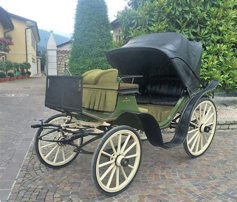 Carrozza Vittoria - d epoca vittoria guardiani cremona bagozzi carrozze