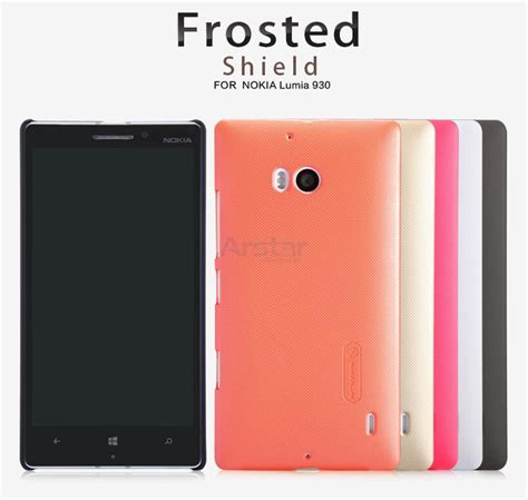 Lumia 730 Hardcase Nillkin Frosted Original original nillkin frosted shield phone cover for nokia