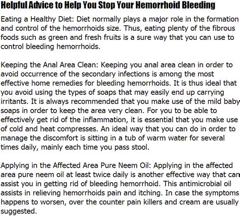 foods to stop bleeding overdose of blood thinners