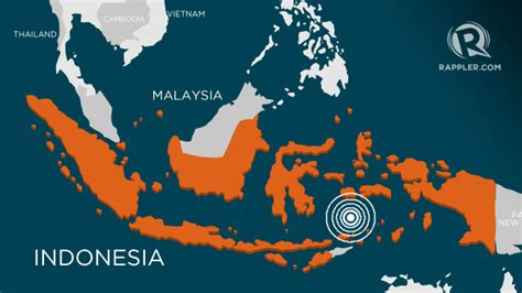 earthquake report indonesia 6 0 magnitude quake strikes off eastern indonesia usgs