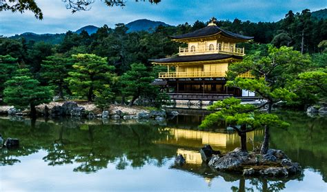 the temple of the golden pavilion kyoto japan travel