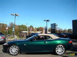 Green Jaguar Convertible 2007 Jaguar Xk Xk8 Convertible In Jaguar Racing Green