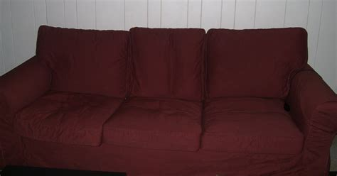 how to dye a couch the a list how to dye ektorp slipcover