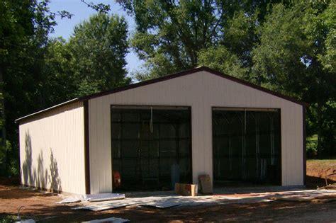 Car Garage Types by Types Of Metal Buildings Steel Building Garages Portable