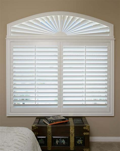 83 best images about arch window treatments on pinterest danmer orange county custom shutters window treatments