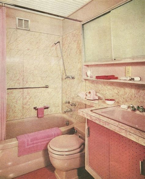 1960s Bathroom by 114 Best 1960s Bathroom Images On 1960s Vintage Bathrooms And Vintage Vanity