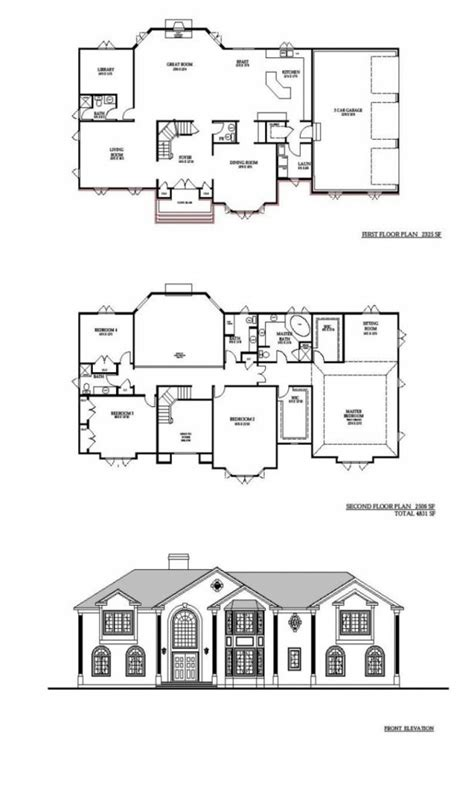 New Home Floor Plans by New Home Construction Floor Plans Exterior Build House