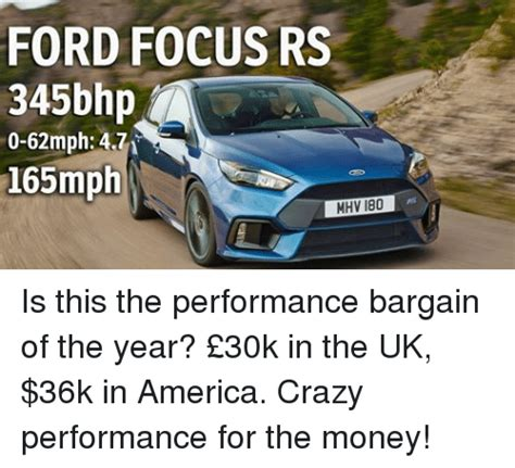 Ford Focus Meme - ford focus rs 345bhp 0 62mph 471 165mph mhv 180 is this