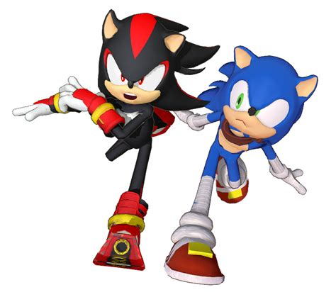 MMD Sonic Boom Shadow preview1 by 495557939 on DeviantArt