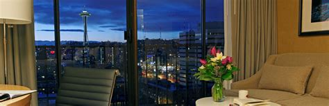 top 10 hotels with a view space needle news