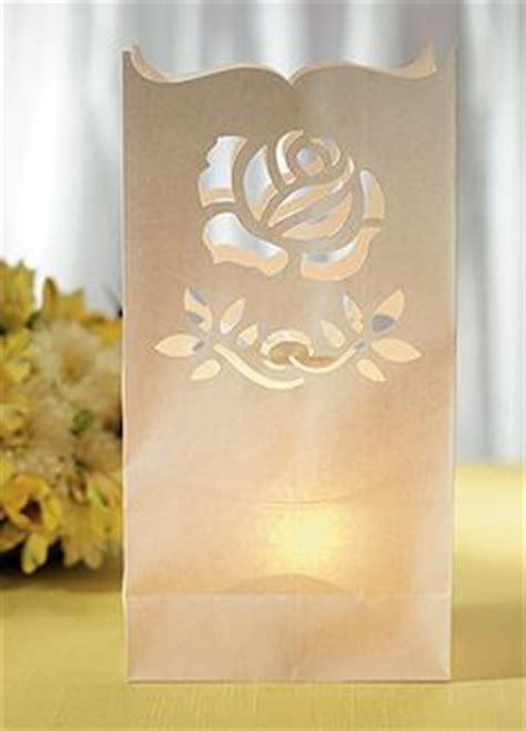 patterns for paper bag luminaries 1000 images about diy wedding luminaries on pinterest