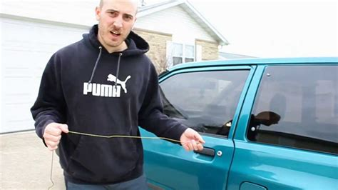 Unlock Car Door With Hanger by How To Unlock Your Car Using A Coat Hanger