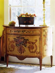 Used Credenzas Hand Painted Furniture Combining Utility With Hand