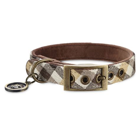 plaid collars bond co brown plaid collar petco