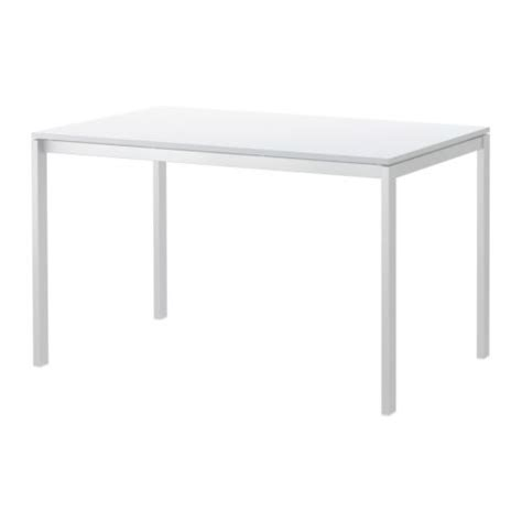 White Table by Melltorp Table