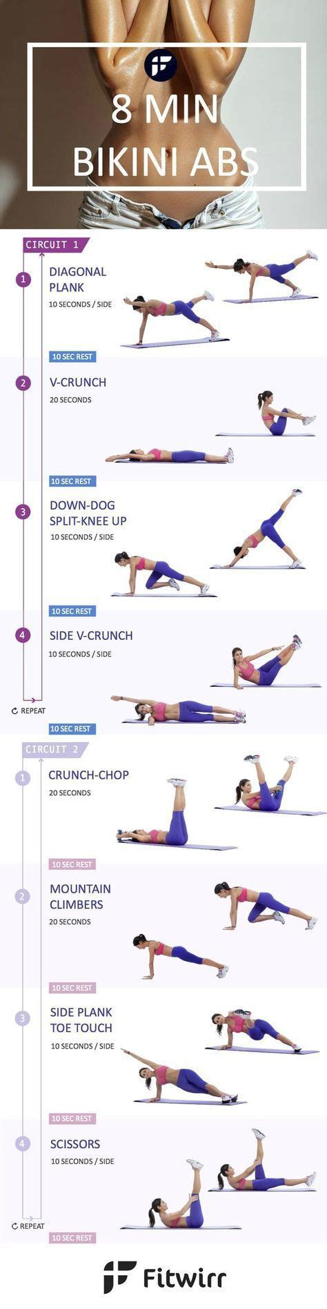 17 best ideas about morning ab workouts on morning workout plan daily