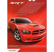 2007 Dodge Charger SRT8 Advertisement  CLASSIC CARS TODAY