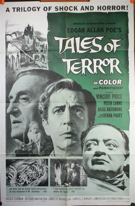 Tales Of Terror tales of terror original vintage horror poster