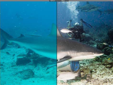 under water filter adobe lightroom underwater photos post processing mozaik uw