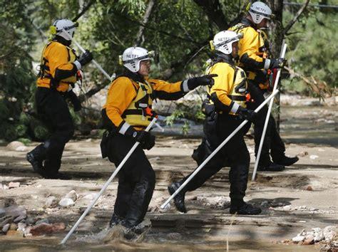 rescue nebraska firefighters heading home after wading through flood 911 news journalstar