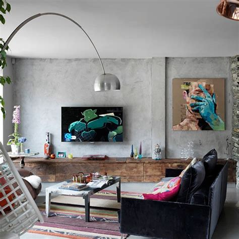 stylish eclectic home in with industrial twist