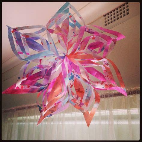 kindy craft kindy craft snowflakesuccess cutting up