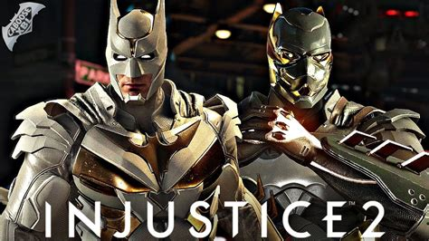 Batman The Golden injustice 2 gold batman vs gold batman