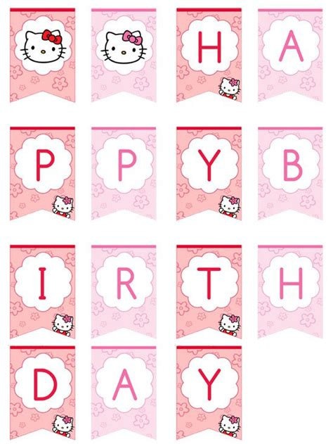 Hello Birthday Banner Template Free by Hello Birthday Banner