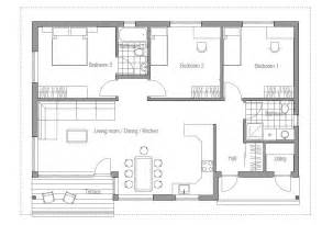 Affordable Home Plans To Build Small House Plan Ch63 In Classical Architecture Small