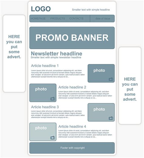 how to create a template for creating a personalized newsletter template 1 1