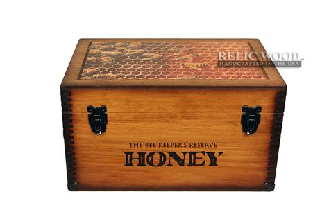 Interior Home Decor by Beekeeper Reserve Honey Keepsake Box