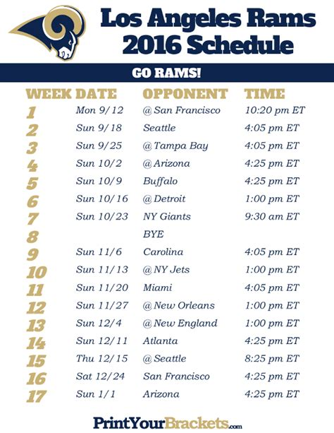 Can You Sue A Doctor For Wrong Diagnosis 2 by 2018 Printable Los Angeles Rams Schedule 28 Images