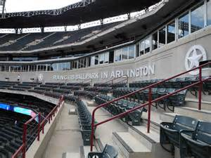 stadiumpage rangers ballpark in arlington lexus