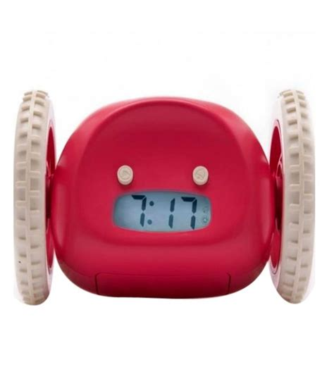 Alarm Wheels basethings the running alarm clock on wheels buy basethings the running alarm clock on wheels