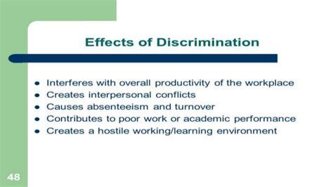 gender discrimination at work place