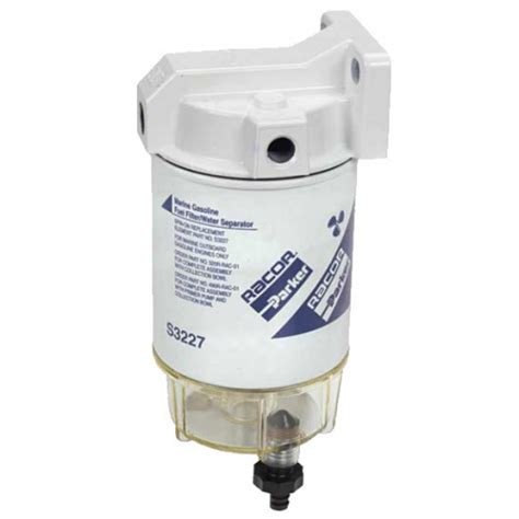 parker boats fuel efficiency racor complete fuel filter 199 95 whitworths marine