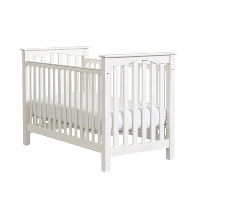 Low Crib by Kendall Low Profile Convertible Crib Pottery Barn
