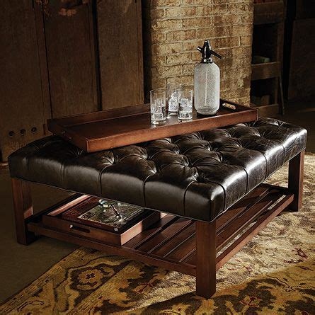 coffee spill on leather sofa best 25 leather ottoman coffee table ideas on