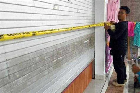 Garis Polisi Atau Polise Line polsek denbar line salon yang layani prostitusi balipost