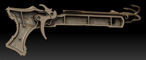 Triger 3d crossbow 3d print design on behance